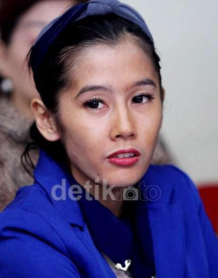 Wajah Lelah Ardina Rasti