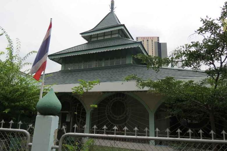 Jawa Mosque, masjid orang Jawa di kawasan Sathorn, Bangkok, Thailand (Fitraya/detikTravel)