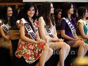 Inilah Para Finalis Pemilihan Puteri Indonesia 2013