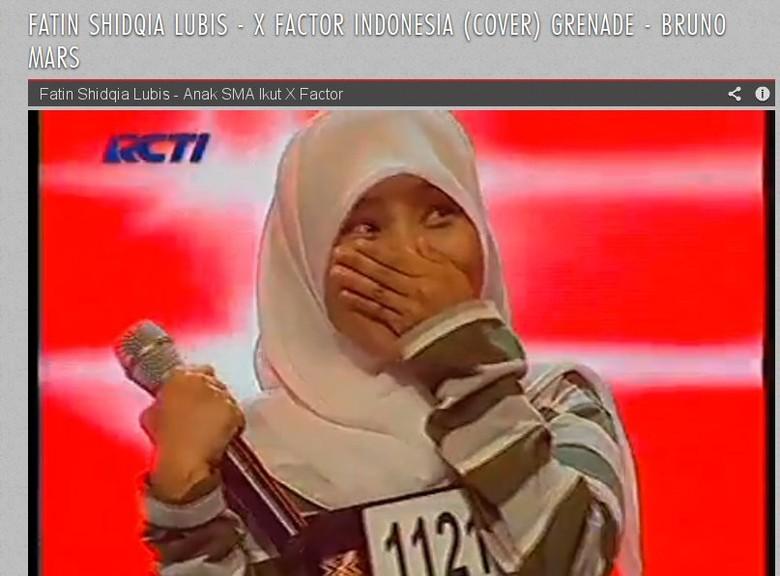 Nyanyikan \Grenade\, Peserta X Factor Indonesia Masuk Situs Resmi Bruno Mars
