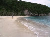berjalan di sepanjang Pantai Atuh