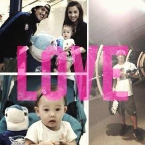 Aih, Lucunya Anak Irfan Bachdim dan Jennifer Kurniawan!