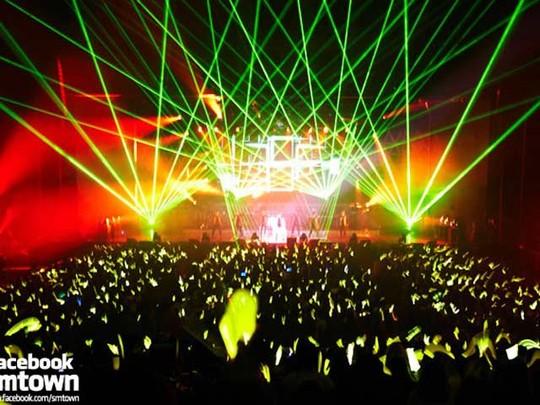 Kemeriahan Konser Spesial BoA di Korea