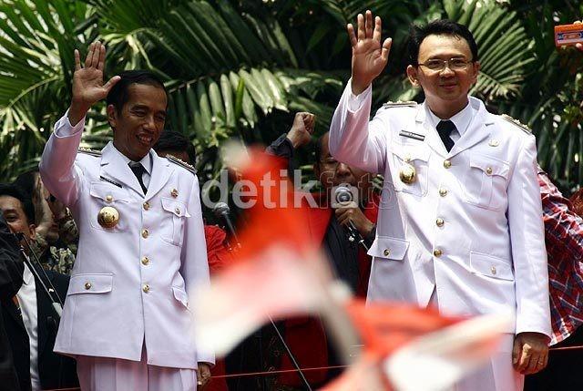 4 Aksi Kekompakan Jokowi-Ahok Ciptakan PKL Elite di Kota Tua