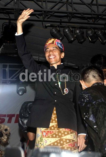 Jokowi & 4 Rangsangan untuk Pedagang Kecil