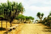 Parkir pantai Goa Watu Lawang