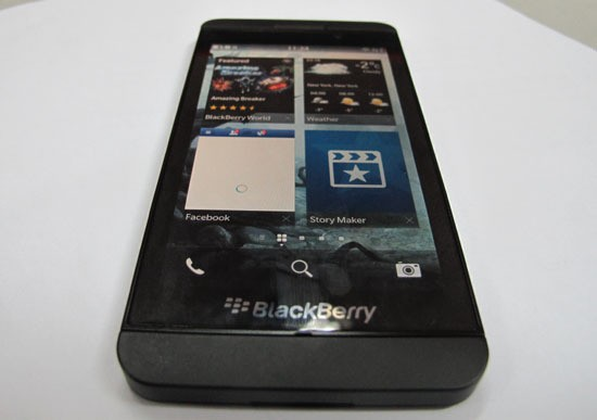 Z10, Ponsel Pertaruhan Nasib BlackBerry