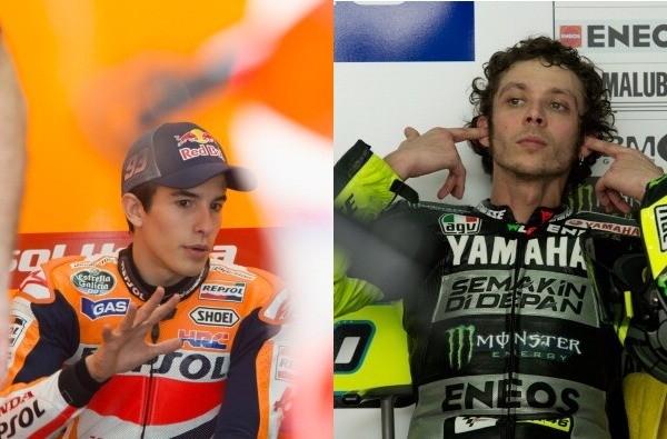 Performa Rossi dan Marquez Tak Kejutkan Lorenzo