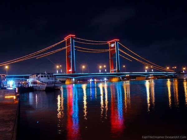 Palembang Tak Sebatas Jembatan Ampera