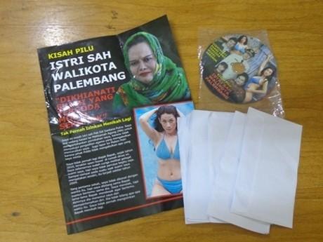 Wali Kota Palembang Lapor Polisi Soal Video \Panas\ Istri Muda