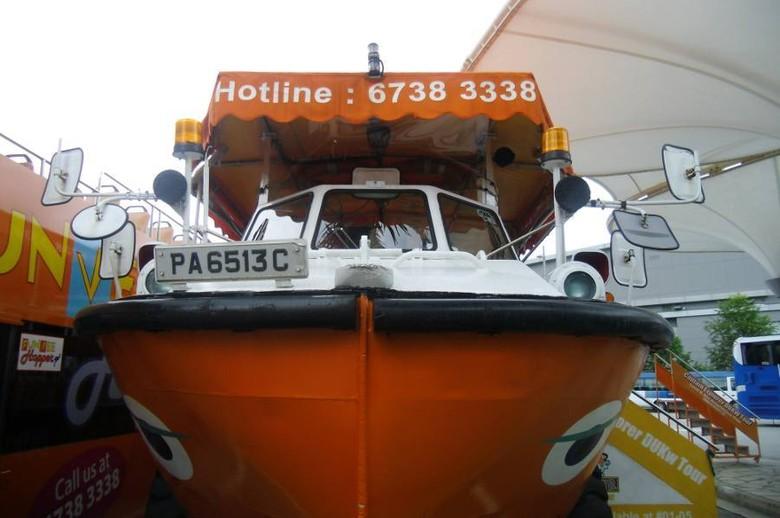 Captain Explorer Dukw, mobil amfibi penjelajah Singapura (Aan/detikTravel)