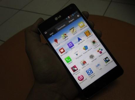 Optimus G, Android Paling Sangar LG