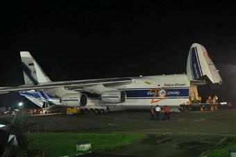 2 Pesawat Tempur Sukhoi Mendarat di Lanud Sultan Hasanuddin Makassar