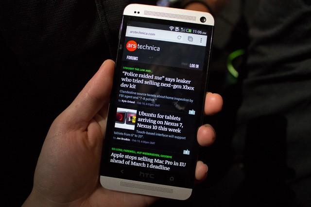 HTC One (arstechnica)