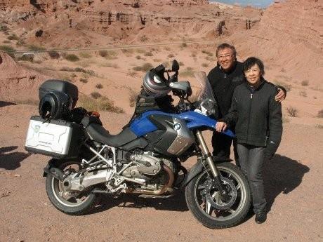 Lunardi dan istri (golf-biker.com)