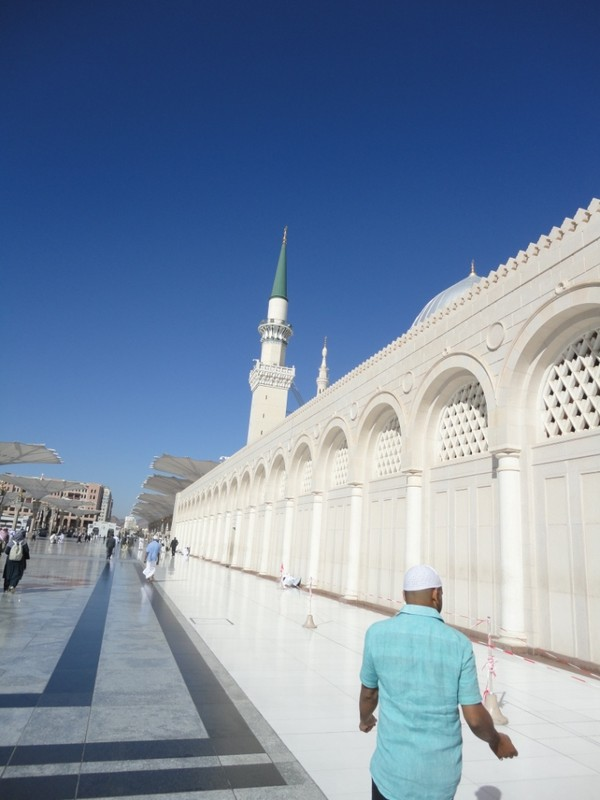 Masjid Nabawi yang jelita