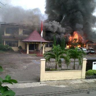 Kapolsek Martapura Luka Parah Akibat Bentrok TNI vs Polri di Sumsel