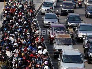 57 Persen Warga Jakarta Kena Imbas Pencemaran Gas Buang Kendaraan