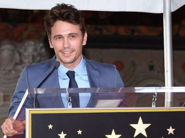 James Franco Eksis di Hollywood Walk of Fame