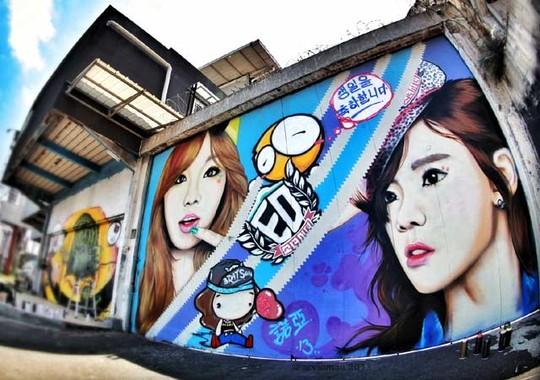 Wow, Ada Taeyeon, Sooyoung & Yuri SNSD di Bandung!