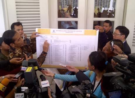 Transparansi Jokowi, Ini Dia Poster APBD 2013
