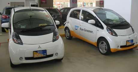 Mobil Listrik Mitsubishi MiEV (yud/detikINET)