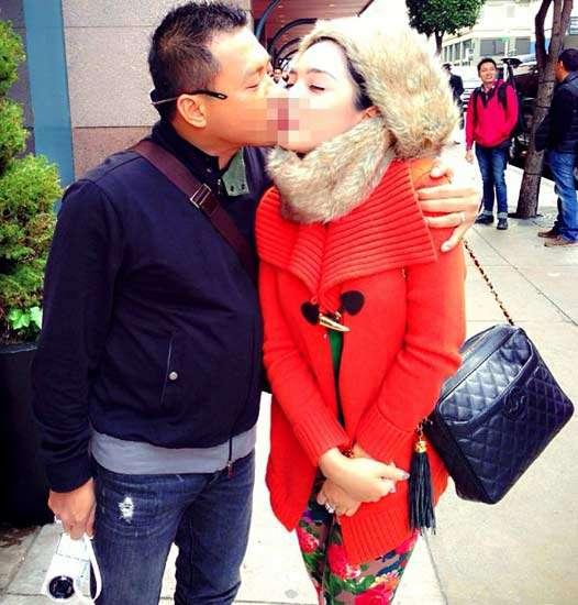 Kecupan Mesra Anang untuk Ashanty di San Francisco