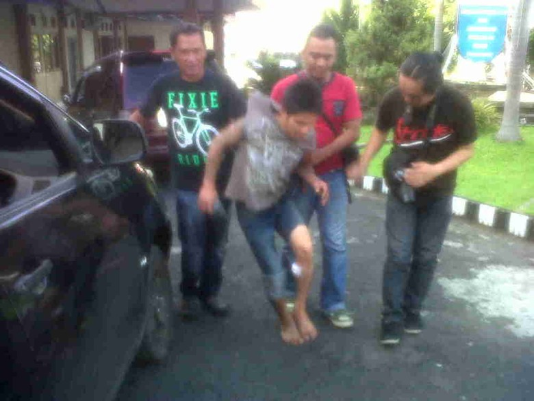 Polisi Tembak Tersangka Pencurian Barang Elektronik di Manado