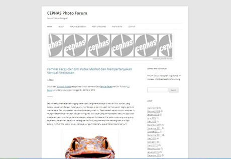 Cephas Photo Forum (screenshot)