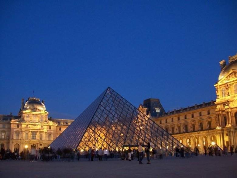 Museum Louvre, tempat lukisan Monalisa yang terkenal (Fitraya/detikTravel)