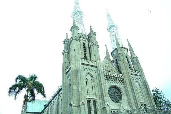 Gereja Katedral yang megah dan bersejarah (Afif Farhan/detikTravel)