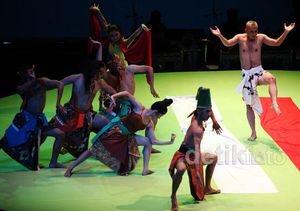 Pentas Selendang Merah Trilogi Terakhir Opera Jawa