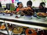 Pedagang Makanan Keluhkan Harga Daging