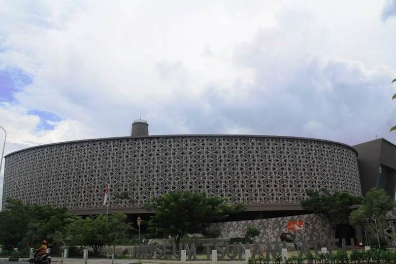 Museum Tsunami Aceh untuk mengenang tragedi tsunami (Triono/detikTravel)