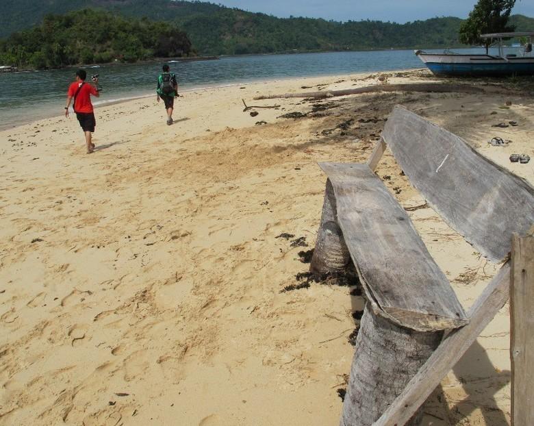 Menjelajahi Pulau Cingkuak (Afif/detikTravel)