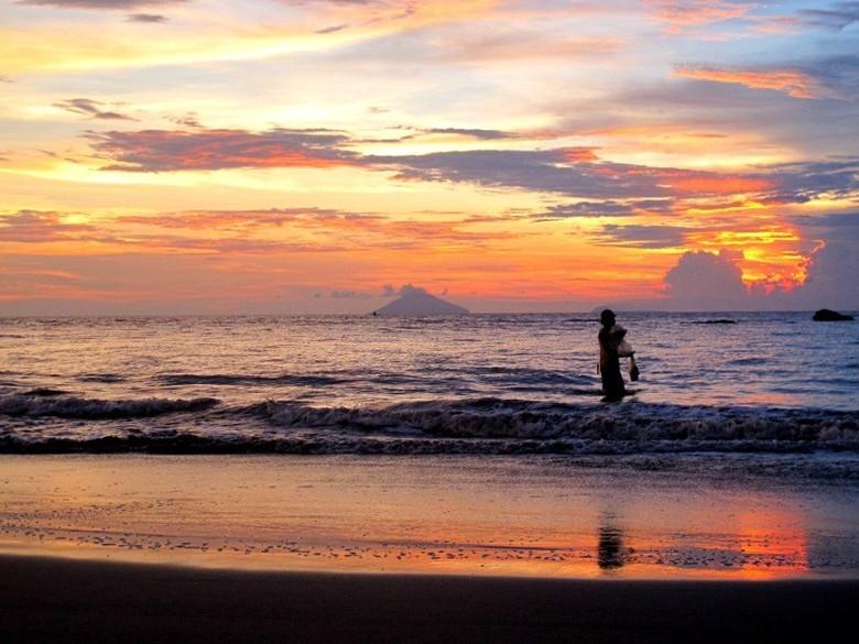 Sunset paling cantik di Anyer (Shafa/detikTravel)