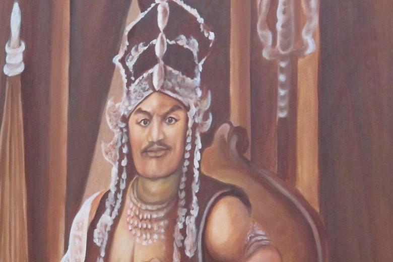 Lukisan Prabu Siliwangi di Keraton Kasepuhan Cirebon (Uyung/detikTravel)
