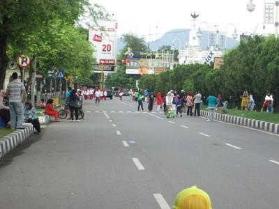 Jalan-jalan ke Banda Aceh, Asyiknya Waktu Car Free Day