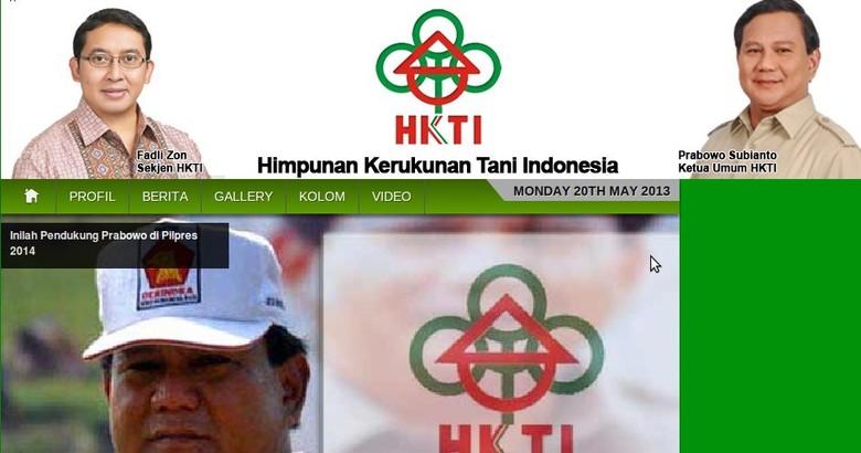 Akhir Perseteruan Prabowo Vs Oesman Sapta Berebut Logo HKTI