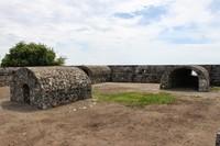 Bagian dalam benteng pertahanan