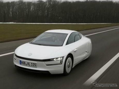 Mengendarai Mobil Teririt di Dunia, VW XL1