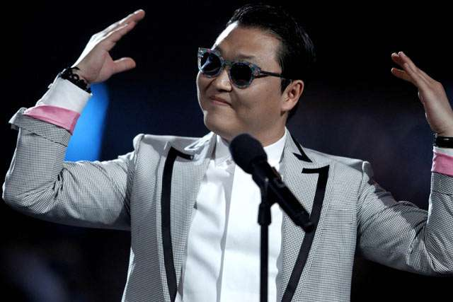 Psy Eksis di Billboard Awards 2013