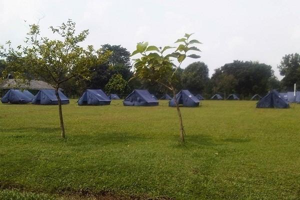 Areal perkemahan Buperta (Dewi/detikTravel)
