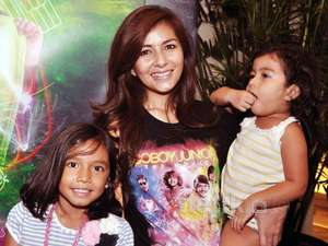 Meisya Siregar Ajak Anak Tonton Coboy Junior The Movie