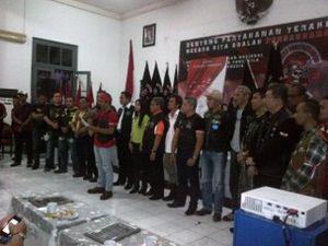 Komunitas Motor Deklarasikan Jakarta Aman