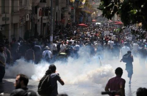 Demo Turki Tolak Penggusuran Taman Meluas Jadi Gejolak Anti Rezim Islamis