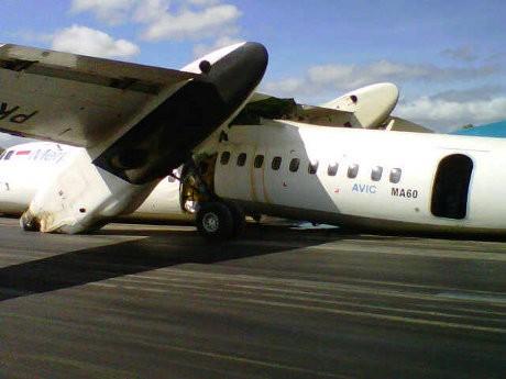 Merpati Crash Landing di Kupang, 7 Penerbangan Delay
