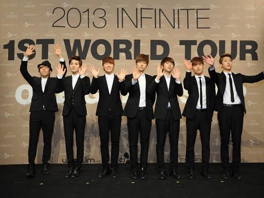 Infinite Siap Tur Dunia