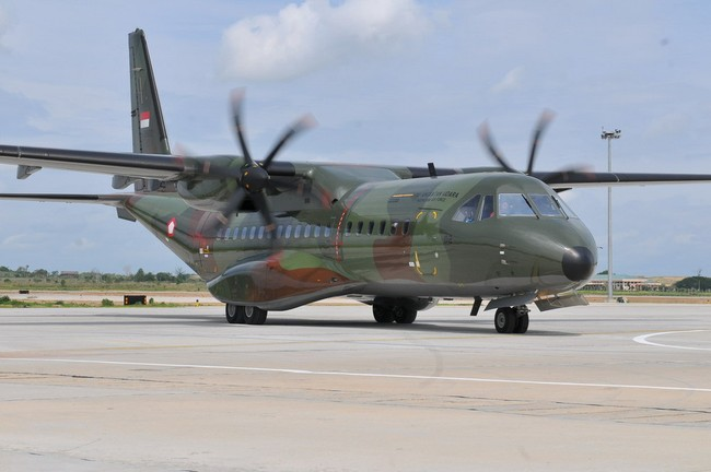Membedah Pesawat CN295 Made in Bandung Seharga Rp 384 Miliar