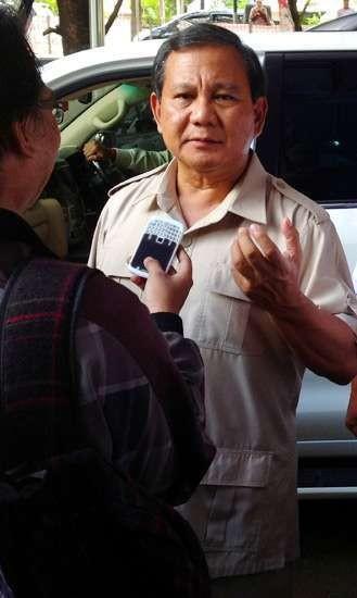 Prabowo Dukung SBY Naikkan Harga BBM